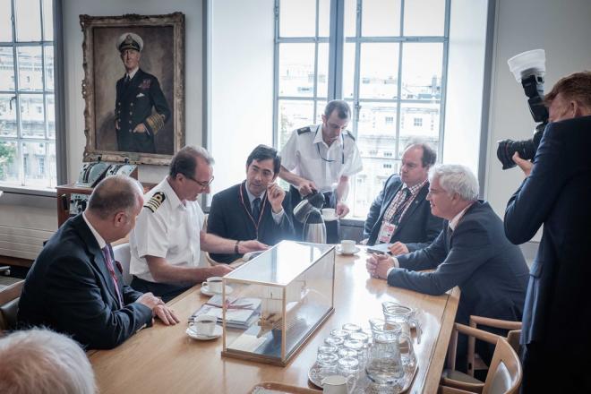 """Londen, boekvoorstelling """"The Raid on Zeebrugge"""""""