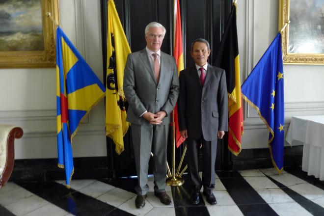 Bezoek ambassadeur van Vietnam
