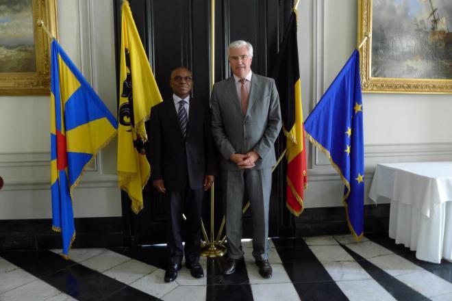 Bezoek ambassadeur van Togo
